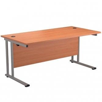 PQ Rectangular Cantilever Desk in 3 popular sizes