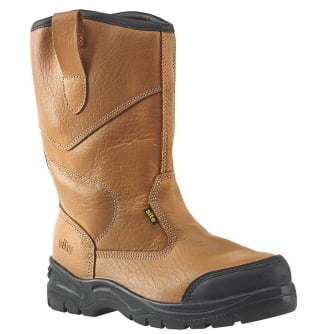 PQ Rigger Insulated Steel Toecap Safety Boot Colour Tan
