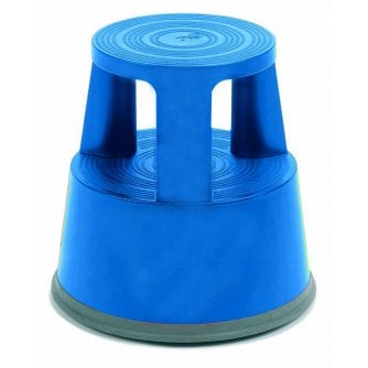 PQ Round Plastic Kick Step or Kick Stool GS Approved in 4 Colours