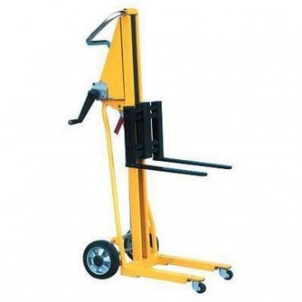 PQ Super light and easy to operate stacker, ideal for transporting small, narrow loads. 120kg Capacity