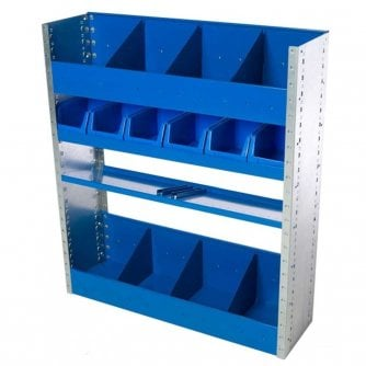 PQ Super Van Racking Kits 1100h x 970w x 280d mm