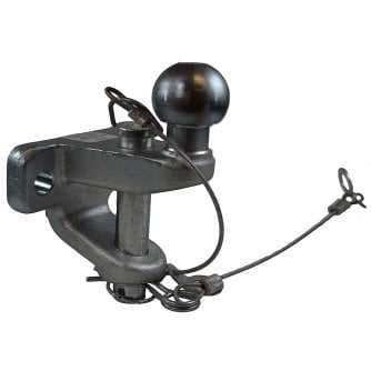 PQ Towing Accessory 50mm Ball and Pin Hitch 20kn 179mm