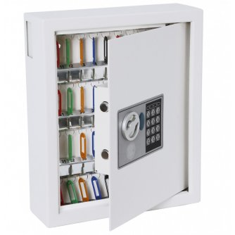 Priory Quay 48-Hook Electronic Combination Key Storage Safe