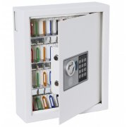 48-Hook Electronic Combination Key Storage Safe