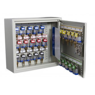 Priory Quay Padlock Key Storage Cabinets - Extra Security 50 to 600 Keys