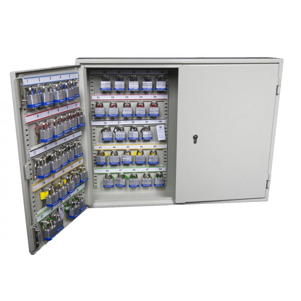 Padlock Key Cabinets Extra Security