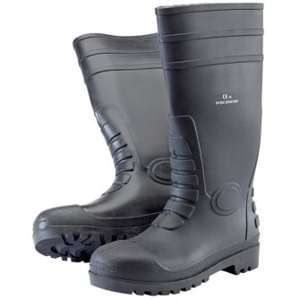 Priory Quay Safety Wellington Boots Sizes 7 to 12