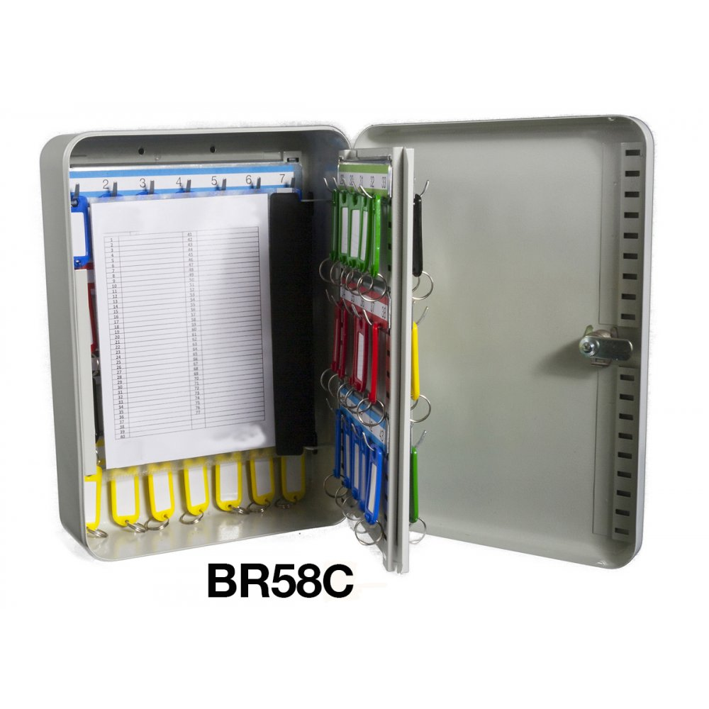 Security Key Cabinets With Combination Cam Lock