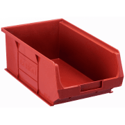 TC4 Tough Polypropylene Small Parts Storage Bins 350l x 205w x 132h mm Pack of 10