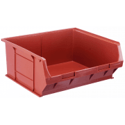 TC6 Tough Polypropylene Small Parts Storage Bins 375 x 420 x 182mm Pack of 5