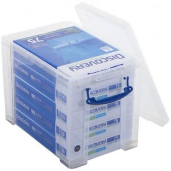 Really Usefiul Box 19 Litre Clear Really Useful Box