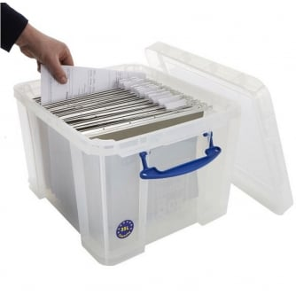 Really Usefiul Box 35 Litre Clear Really Useful Box