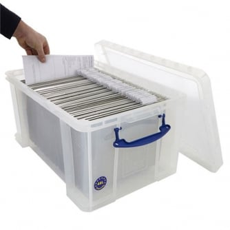 Really Usefiul Box 48 Litre Clear Really Useful Box