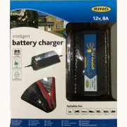 RING 12v, 8Amp Battery Charger Car/Van/Boat