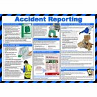 Accident Reporting Poster, Laminated