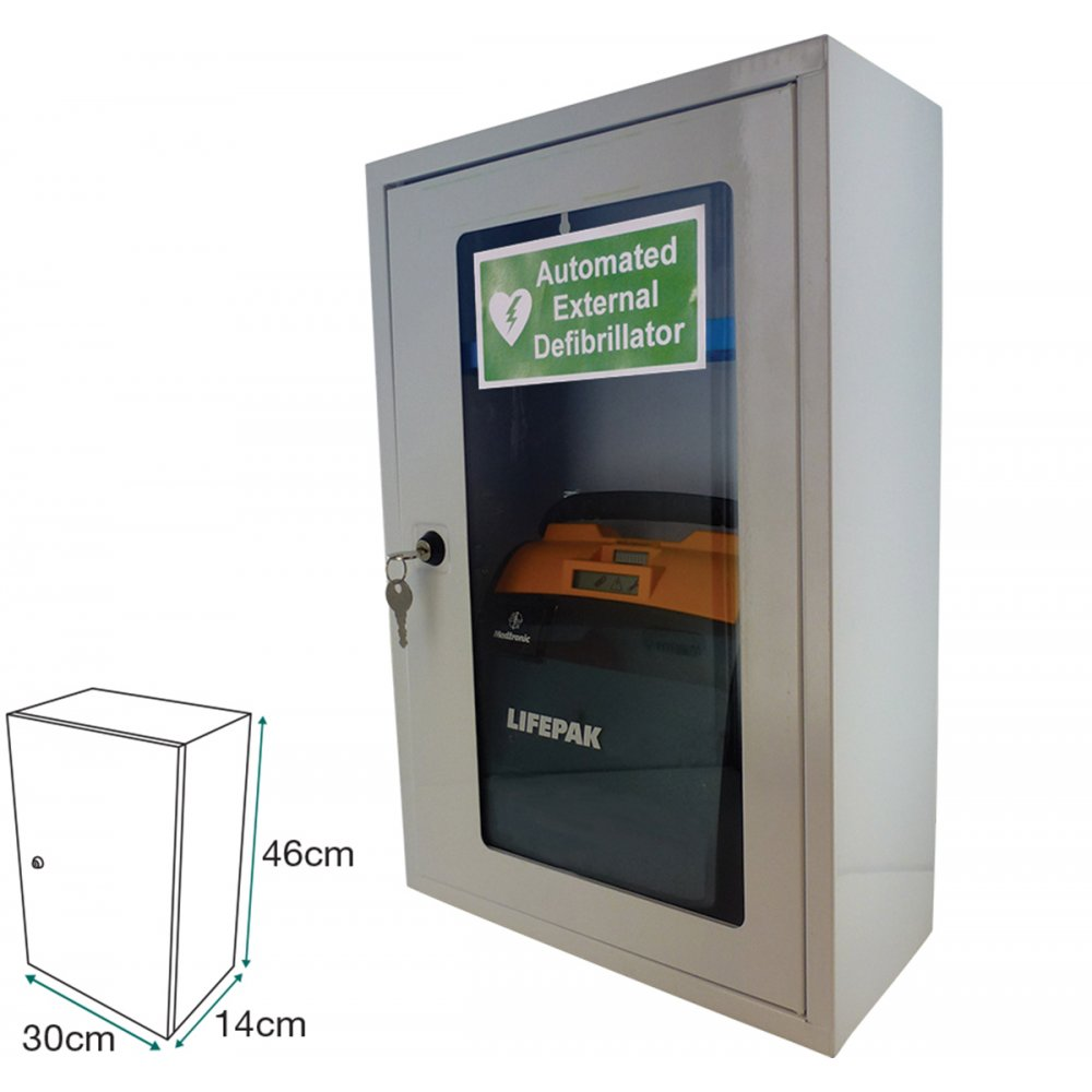 Safety First Aid AED Defibrillator Cabinet