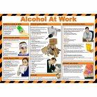 Alcohol at Work Poster, Laminated