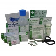 British Standard Compliant Travel First Aid Kit Refill