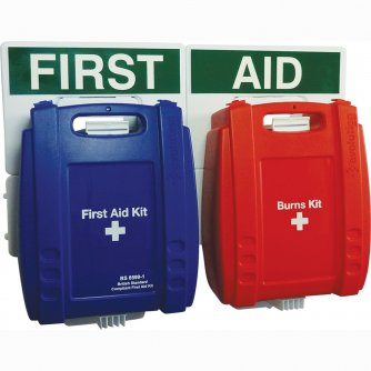 Safety First Aid Catering Catering First Aid Point Blue Case 1 to 10 People