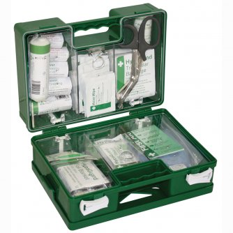 Safety First Aid Catering Deluxe First Aid Kit British Standard Compliant 1 to 20 People