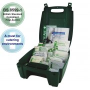 Catering First Aid Kit British Standard Green Evolution Case - Medium