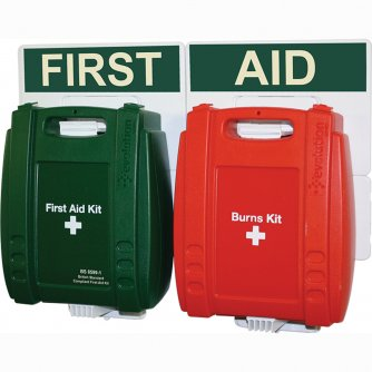 Safety First Aid Catering First Aid Point Green Case 1 to 50 People