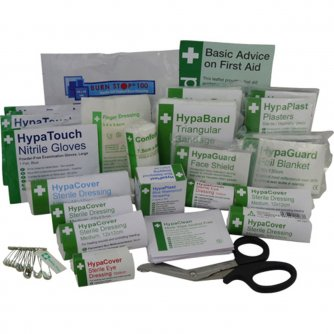 Safety First Aid Catering First Aid Refill British Standard Compliant 1 to 20 People