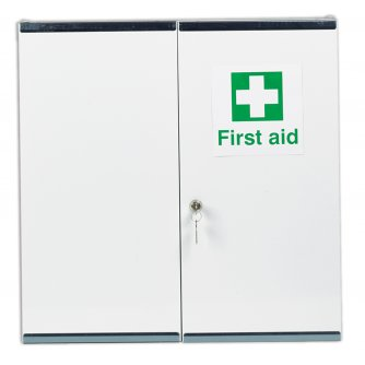 Safety First Aid Double Door, Double Depth Locker, Empty