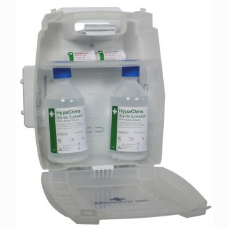 Safety First Aid Evolution Plus 2x500ml Eyewash Kit without Mirror