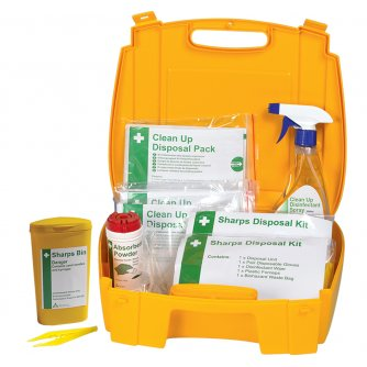 Safety First Aid Evolution Sharps and Body Fluid Disposal Kit