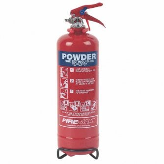 Safety First Aid Fire Extinguisher, ABC Powder, 1kg