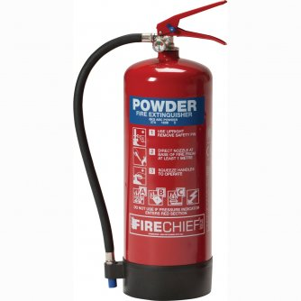 Safety First Aid Fire Extinguisher, ABC Powder, 6kg