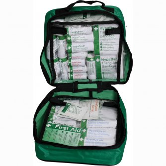 Safety First Aid First Aid Grab Bag British Standard Compliant 1 to 10 People
