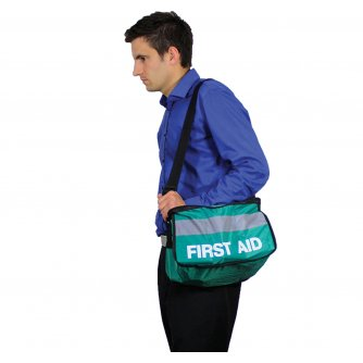 Safety First Aid First Aider Haversack British Standard Compliant 1 to 10 People
