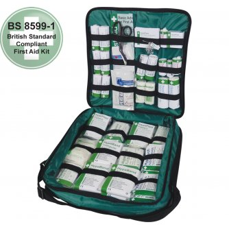 Safety First Aid First Response First Aid Kit British Standard Compliant 1 to 10 People