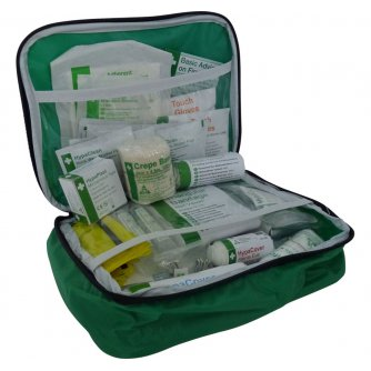 Safety First Aid Football First Aid Kit - Nylon Bag Essential for Sports