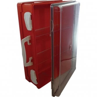Safety First Aid Heavy Duty First Aid Cabinet Size 39.5 x 28 x 14cm