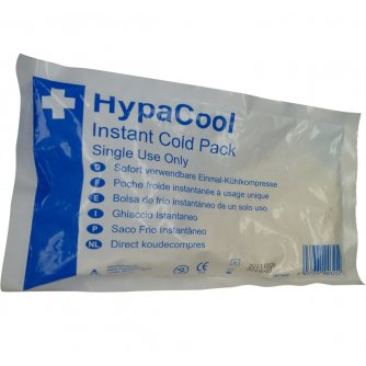 Safety First Aid HypaCool Instant Cold Pack, Standard, Pack of 12