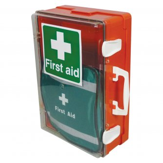 Safety First Aid Outdoor First Aid Cabinet British Standard Compliant 1 to 50 People