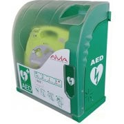 Outdoor Heated AED Defibrillator Cabinets with Alarm or with Comination Lock