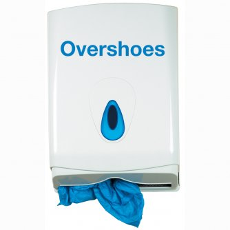 Safety First Aid Overshoes, Plastic (150 pairs in a refill box to fit dispenser)