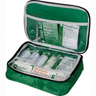 Safety First Aid Passenger Carrying Vehicle First Aid Kit in Nylon Case