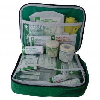Safety First Aid Rugby First Aid Kit in Nylon Bag - Essential for Sports