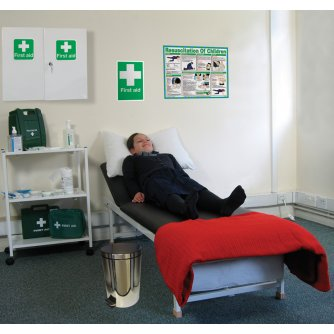 Safety First Aid School First Aid Room