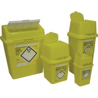 Safety First Aid Sharps Disposal Box, 13 litre
