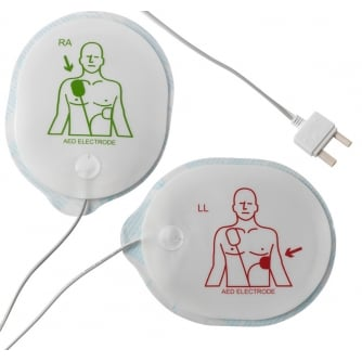 Safety First Aid Telefunken AED Difibrillator Adult Electrode Pads