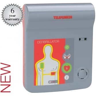Safety First Aid Telefunken AED Fully Automatic Defibrillator with Verbal CPR Prompts A861