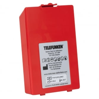 Safety First Aid Telefunken FA1 AED Defibrillator Battery A863