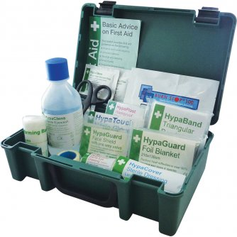Safety First Aid Travel First Aid Kit British Standard BS8599 Compliant Economy Case