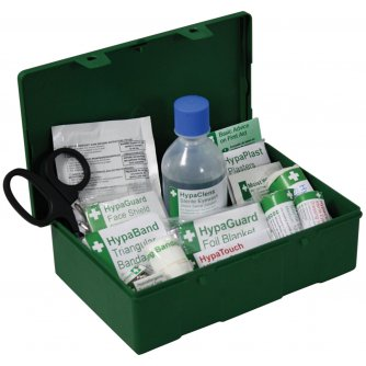Safety First Aid Travel First Aid Kit British Standard Compliant  - 1 to 10 People